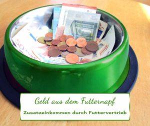 Geld aus dem Futternapf