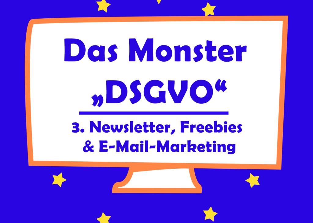 dsgvo newsletter freebies und e-mail-marketing