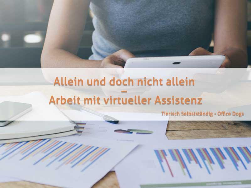 Allein und doch nicht allein – Arbeit mit virtueller Assistenz