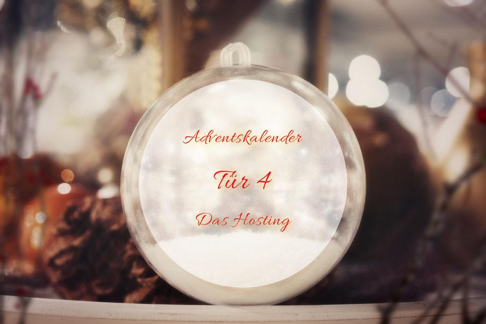 Türchen 4: Das Hosting