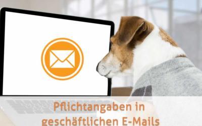 Geschäfts-E-Mails: Das gehört rein