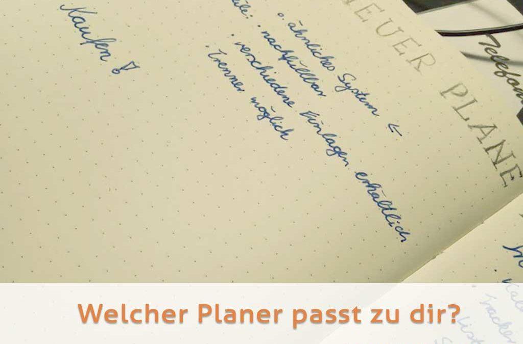 Vom Bullet Journal zum Filofax und zurück – Immer noch auf der Suche nach dem perfekten Planer