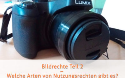 Bildrechte Teil 2 – Welche Arten von Nutzungsrechten gibt es?