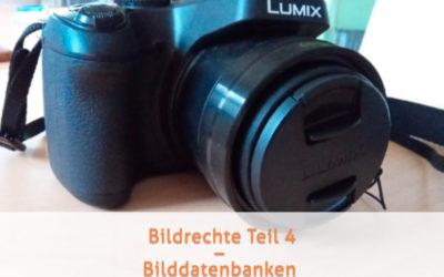 Bildrechte Teil 4 – Wie sieht es mit Bildern aus Bilddatenbanken aus?