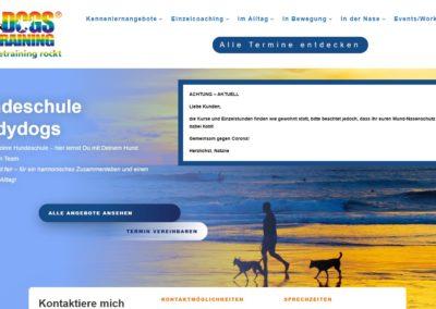 Neugestaltung einer Webseite (Studydogs)